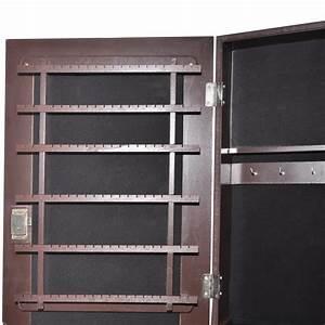 Armoire à Bijoux Miroir : la boutique en ligne armoire bijoux avec miroir brun ~ Teatrodelosmanantiales.com Idées de Décoration