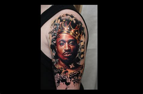 Tupac Portrait Tattoo  Wwwimgkidcom  The Image Kid Has It