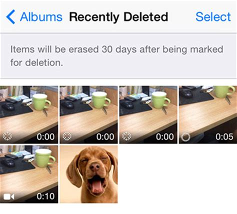 recently deleted photos iphone how to recover deleted iphone photos in ios 8