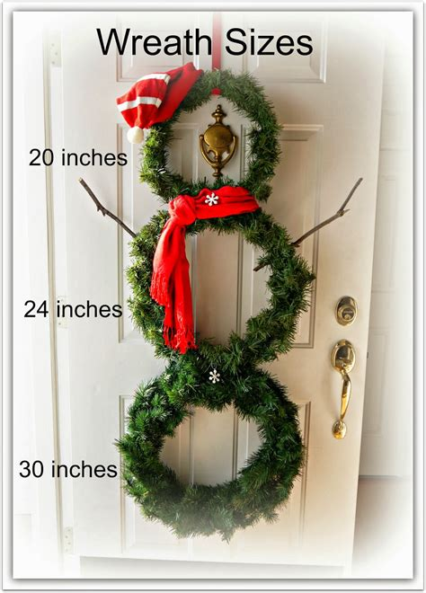 diy snowman wreath sweet little bluebird