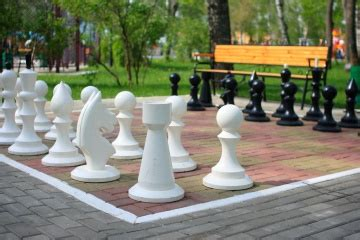 outdoor chess table how to make an outdoor chessboard howstuffworks 1290