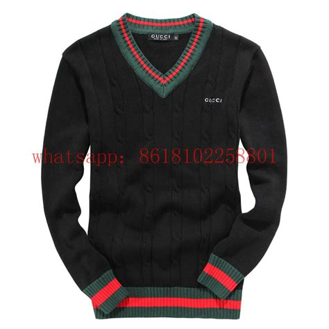 Wholesale gucci Sweater cheap 100cotton gucci menu0026#39;s Sweater - a010 (China Manufacturer ...