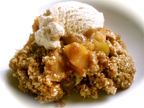 apple dessert well on wheels the traveling vegan chef gluten free vegan toffee apple crisp