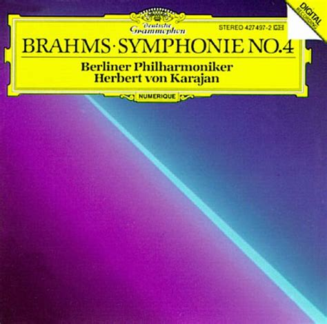 Brahms Best Symphony Brahms Symphony No 4 Berlin Philharmonic Orchestra