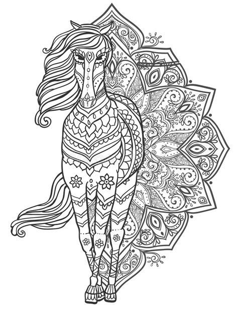 Horse cartoon tattoos stock vector. Illustration of isolated - 17093113
