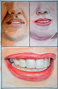 The Mouth and Chin in Watercolour — Online Art Lessons