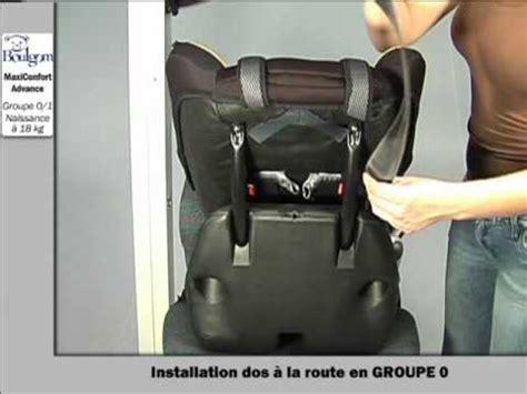 installation siege auto installation du maxiconfort siège auto groupe 0 1 boulgom