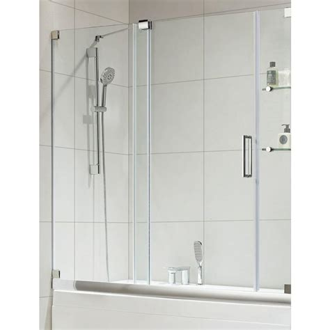 oasis shower doors republic oasis e premium 60 in x 58 in semi framed