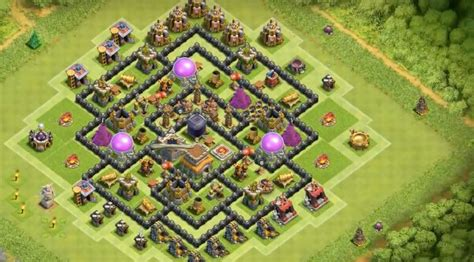 8 inside town farming base layouts for 2016 15 anti 3 th7 to th11 farming war base layouts for 8 in