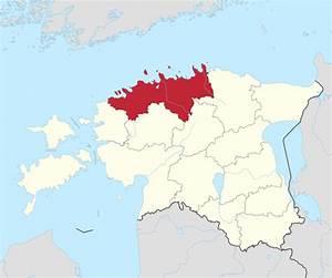 File Harju County In Estonia Svg
