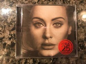 Adele 25 New Sealed Cd! Also See.... Beyonce & Taylor ...