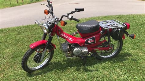 1986 Honda Trail 110 For Sale (925 Miles) Excellent