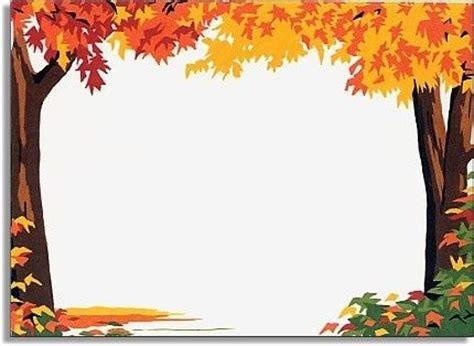 fall border cliparts   clip art