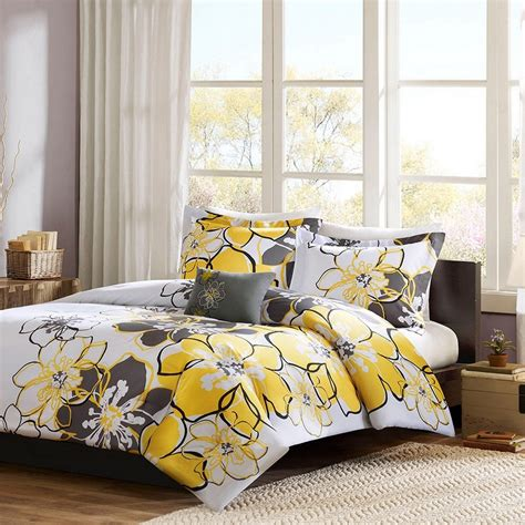 Yellow And Gray Bedroom To Get Better Sleeping Quality. Gray And Teal Bedroom. Modern Style. Wall Hanging Planters. Installing A Barn Door. Kuzco Lighting. Custom Bathtubs. Bsw Roofing. Freestanding Porch