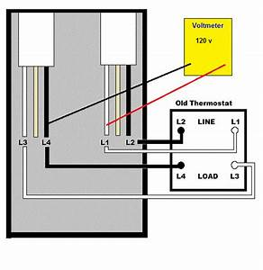 Baseboard Heat Thermostat Wiring Diagram For 240v