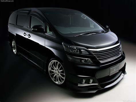 Toyota Vellfire Wallpapers by Wald Toyota Vellfire 2009 Picture 01 1024x768