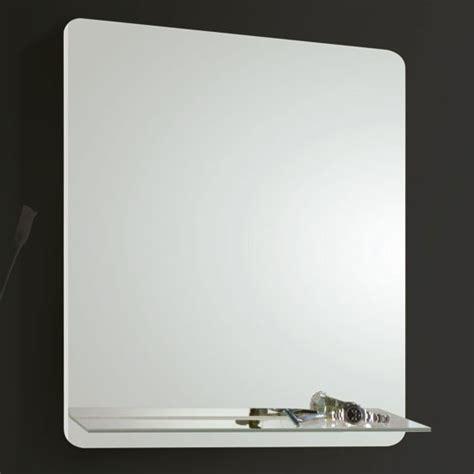 bathroom mirrors  shelf wood plank porcelain tile