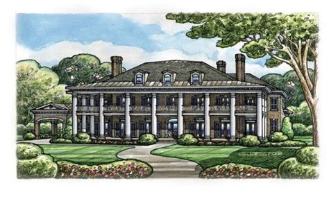 Southern Plantation Home Plans by Colonial Plantation House Plans Historic Southern