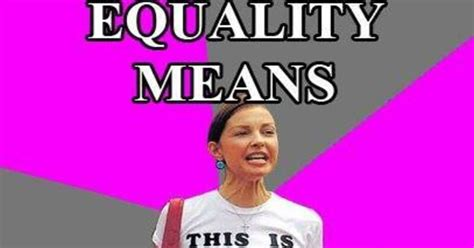 Equality Meme - meme perfectly explains what equality really means to liberals