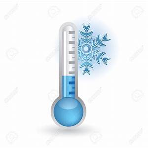 Cold Weather Thermometer Clipart