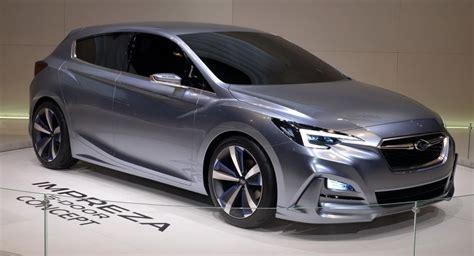 Subaru Wrx Wagon 2017 by Moment Of 2017 Subaru Impreza Production Vs Concept