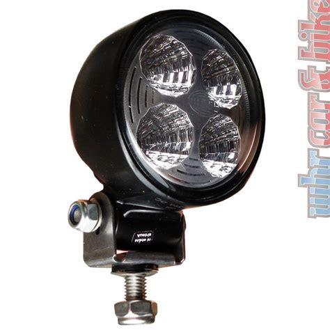 led arbeitsscheinwerfer 12v hella modul 70 12v 24v led arbeitsscheinwerfer scheinwerfer stehender anbau ebay