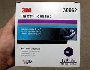 New Toy 5000 Grit Trizact Foam Finishing Discs