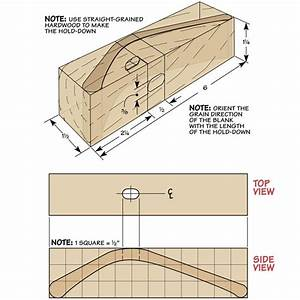 Shop-Made Hold-Down Woodsmith Tips
