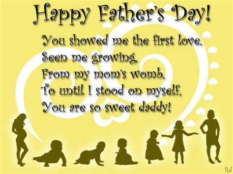 happy fathers day messages  daughter son wife