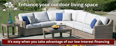 Patio Furniture Financing by Financing Decked Out Home And Patio