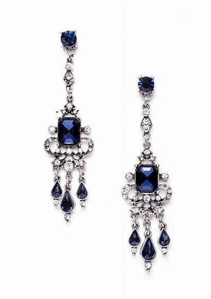 Earrings Chandelier Silver Statement Grand Jewelry Happiness
