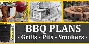 BBQ Plans - Grills - Pits - Smokers - Carts - (Free)