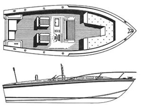 Inboard Fishing Boat Plans by Detail Outboard Cabin Cruiser Plans Dab