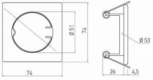 10 Quadrat Kabel : einbaurahmen f r gu10 mr16 einbauringe decken spots rahmen eckig inox parma 1587 ebay ~ Frokenaadalensverden.com Haus und Dekorationen