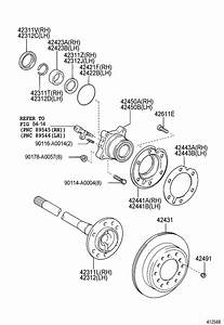 Toyota Tundra Axle Shaft Bearing Seal  Loading