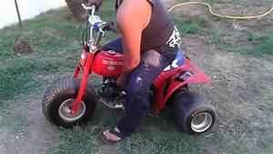 Atc 70 Custom 125cc Pit Bike Motor Slicks