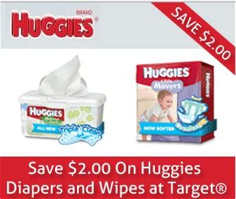 26016 Huggies Diapers Coupons Target by New Target Huggies Diapers Wipes Coupon Frugal Living Nw