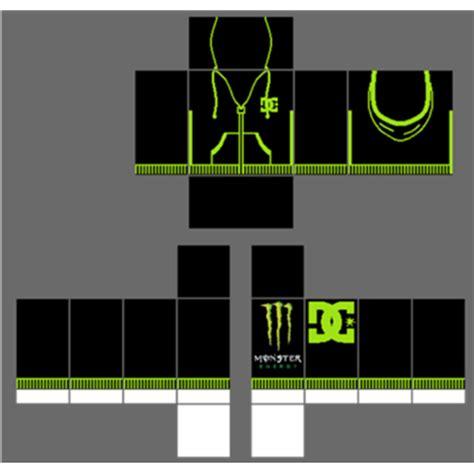 monster shirt template roblox