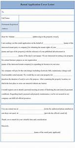 application letter sample february 2015 With tenancy application cover letter