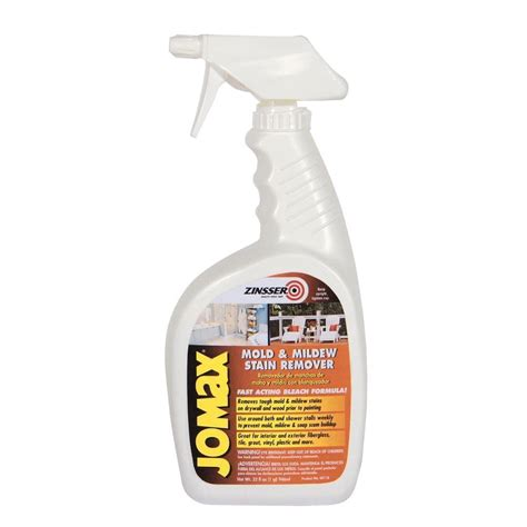 Zinsser Jomax Deck Wash by Zinsser 1 Qt Jomax Mold And Mildew Stain Remover Of