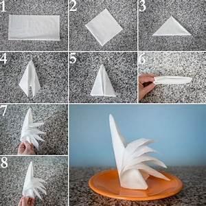 Servietten Falten Krone : como dobrar guardanapo de papel 25 ideias artesanato passo a passo ~ Frokenaadalensverden.com Haus und Dekorationen