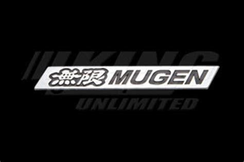 mugen metal emblem large yz  king