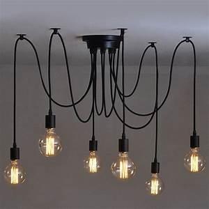 Luminaire Industriel Ikea : 1000 id es propos de plafonniers sur pinterest style de caf clairage industriel et ~ Teatrodelosmanantiales.com Idées de Décoration