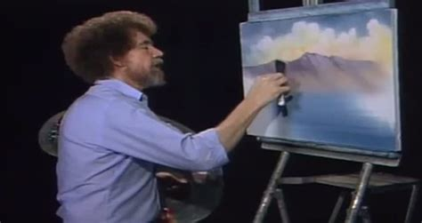 Bob Ross Happy Little Clouds Remix