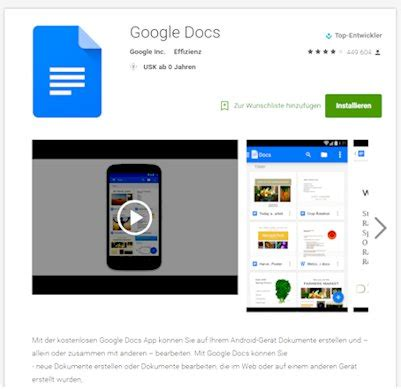Online download: How to download google docs app