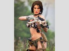 2015 Tactical Gun Girls Wall Calendar
