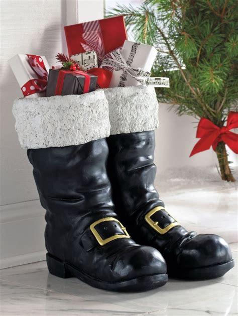 top  decoration ideas  santa boots christmas