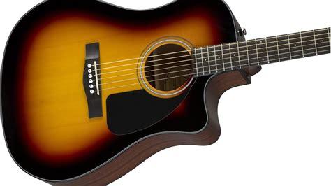 Fender Cd60ce Acoustic Electric Sunburst Guitar Review