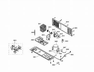 Compressor  Condenser Diagram  U0026 Parts List For Model