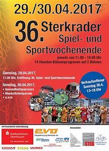 Verkaufsoffener Sonntag Oberhausen 2017 : sterkrader spiel und sportwochenende ~ Orissabook.com Haus und Dekorationen